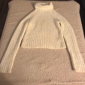 Arizona white turtle neck sweater